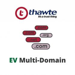Thawte with EV Multi-Domain