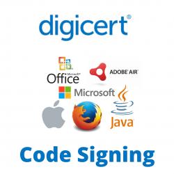 DigiCert Code Signing sertifikat