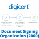 Document Signing - Organization (2000)