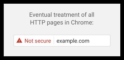 Google Chrome http nebezbedno