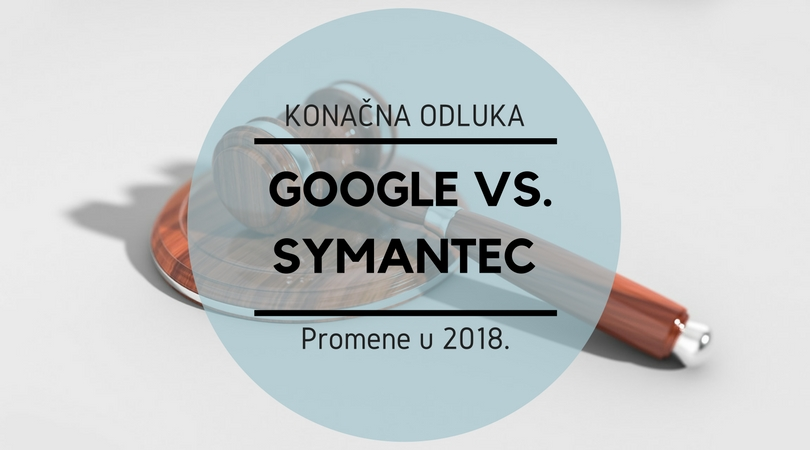 Konačna odluka Google protiv Symantec