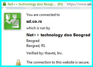 SSL veza ikonica
