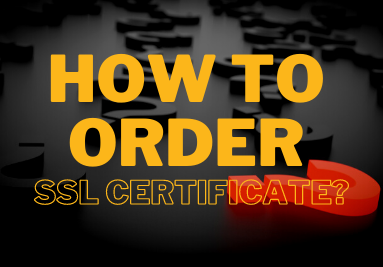 How to order SSL certificate?